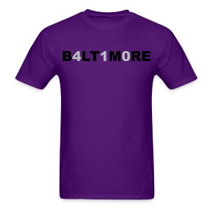 Baltimore 410 - Men's purple crew neck - Men's T-Shirt