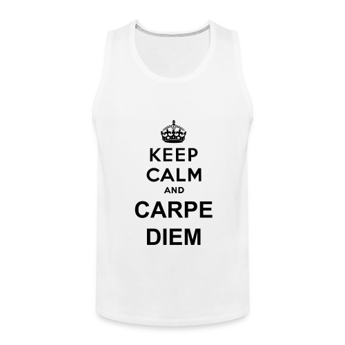 Carpe Diem Shirt - Men's Premium Tank