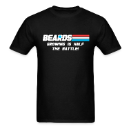 T-Shirts ~ Men's T-Shirt ~ GI Beards