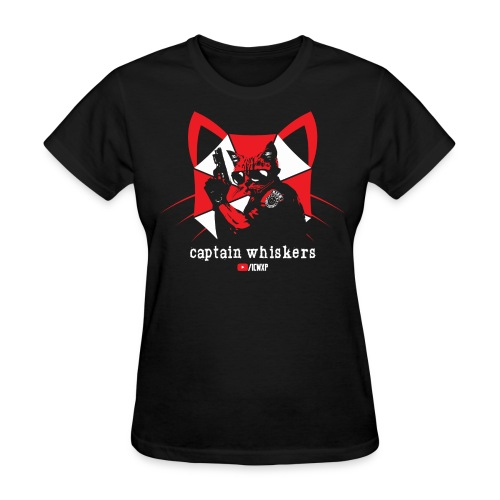 Captain Whiskers for the Ladies - Women's T-Shirt