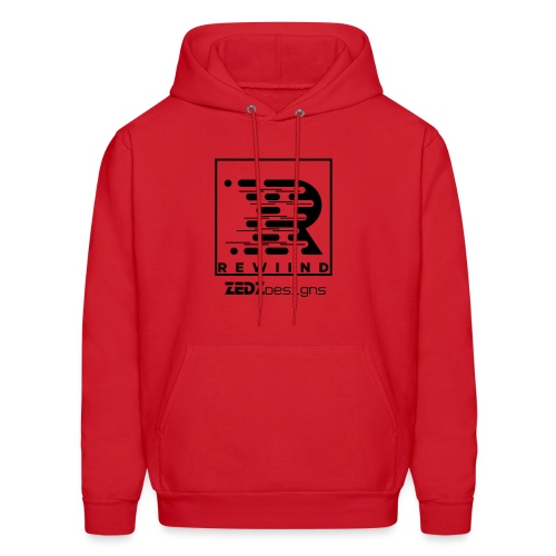 Rewiind By ZedzDesigns - Men's Hoodie