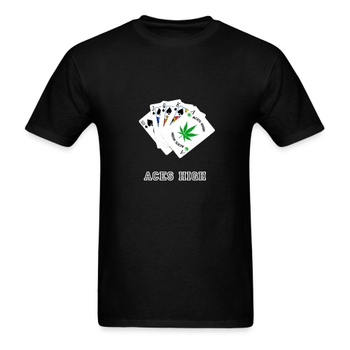 Aces High - Men's T-Shirt