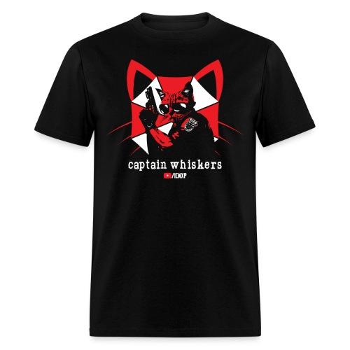 Captain Whiskers - Men's T-Shirt