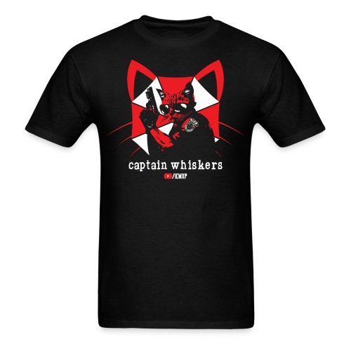 Captain Whiskers - Men's T-Shirt