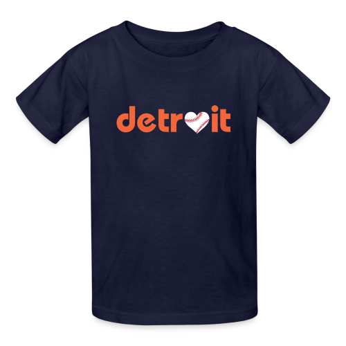 Detroit Baseball Love - Kids' T-Shirt