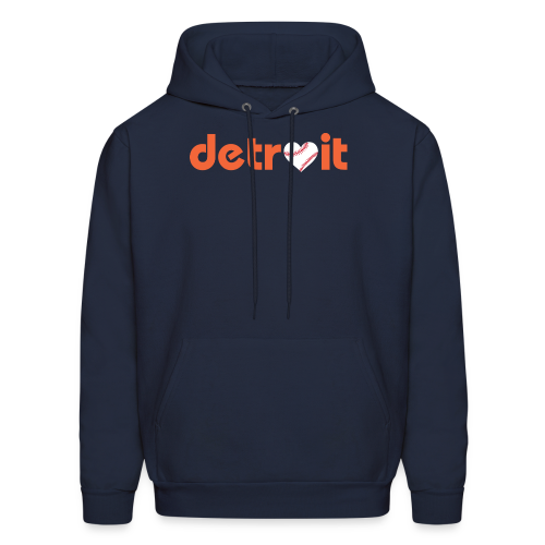 Detroit Baseball Love - Men's Hoodie