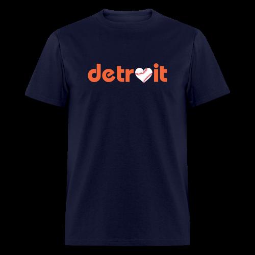 Detroit Baseball Love - Men's T-Shirt