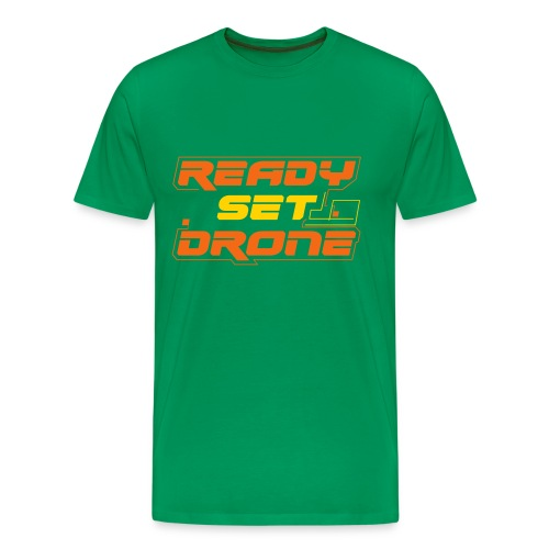 Drone 'O the Irish - Men's Premium T-Shirt