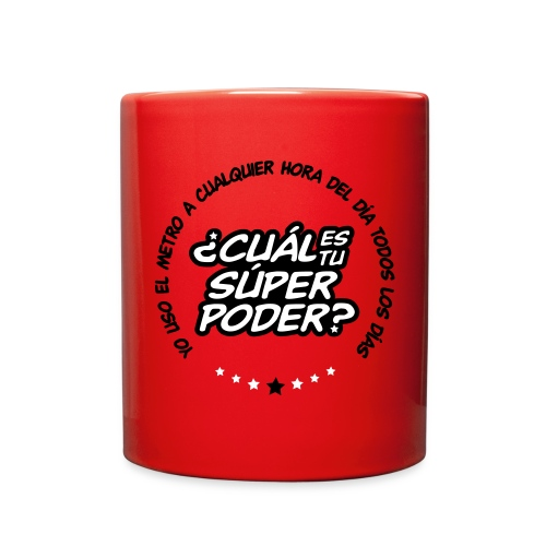 Súper taza roja - Full Color Mug