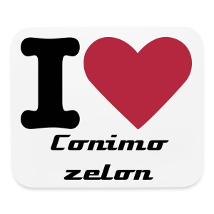 I Love CominoZelon Mousepad - Mouse pad Horizontal