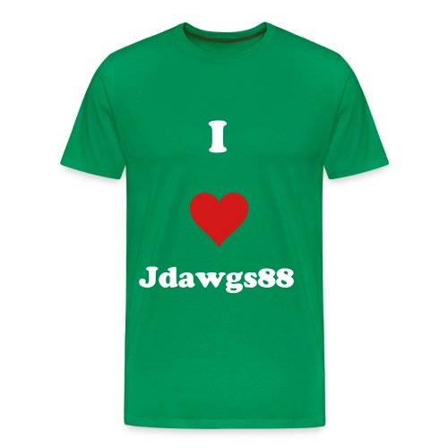 I Love Jdawgs88 - Men's Premium T-Shirt