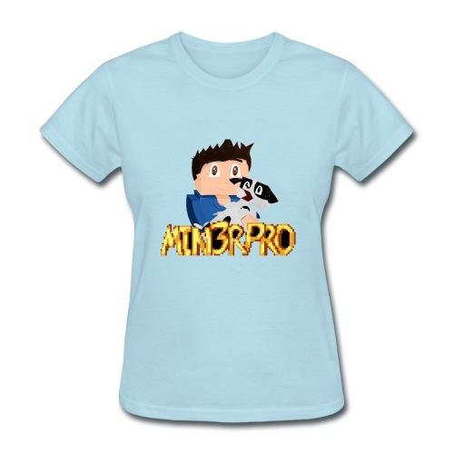 Minecraft | Min3rpro YouTuber Shirt | - Women's T-Shirt