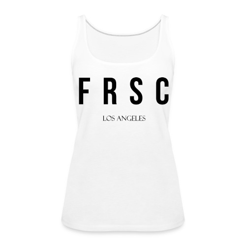 Ladies FRSC Letters Tank - Women's Premium Tank Top