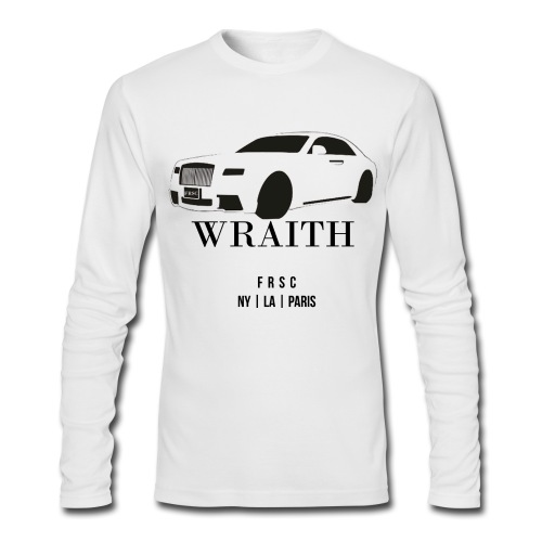 Wraith Car - Long Sleeved - Men's Long Sleeve T-Shirt by Next Level