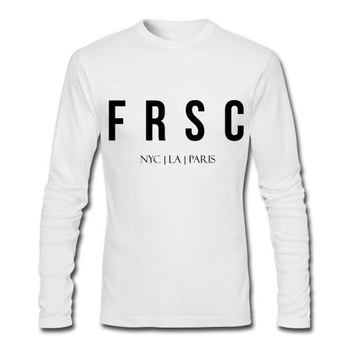 FRSC Letters - NYC LA Paris - Long Sleeved - Men's Long Sleeve T-Shirt by Next Level