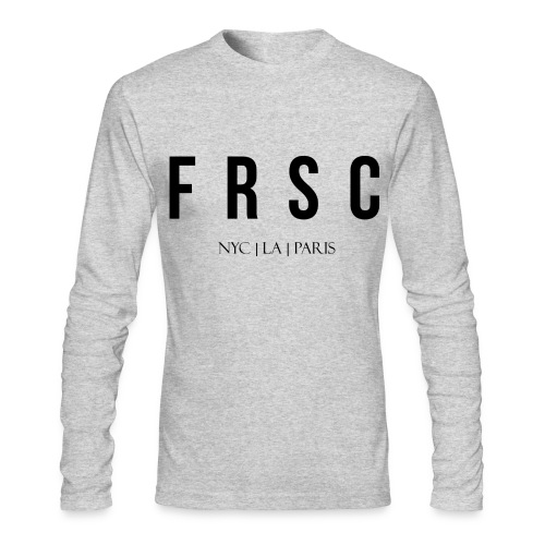FRSC Letters - NYC LA Paris - Long Sleeved - Men's Long Sleeve T-Shirt by Next Level