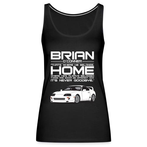 brian o'conner - Women's Premium Tank Top