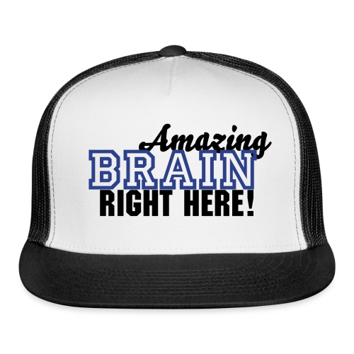Amazing Brain BlueColor - Trucker Cap