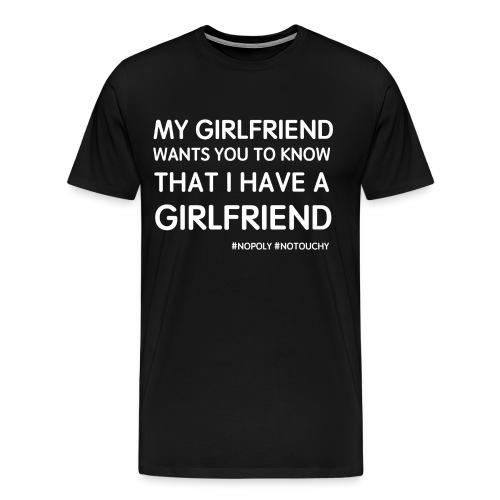 My Girlfriend - Men's Premium T-Shirt