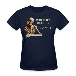 Women's Writer's Block T-Shirt - Women's T-Shirt