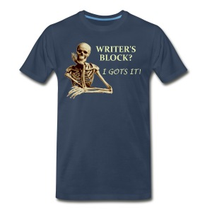 Men's Writer's Block Premium T-Shirt - Men's Premium T-Shirt