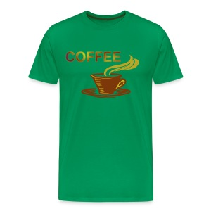 Men's Coffee Premium T-Shirt - Men's Premium T-Shirt