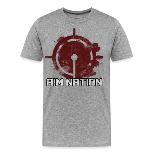 Aim Assist Logo - Men's Premium T-Shirt