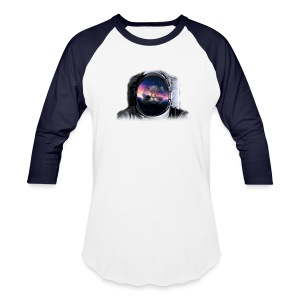 Astronaut Cat - Baseball T-Shirt