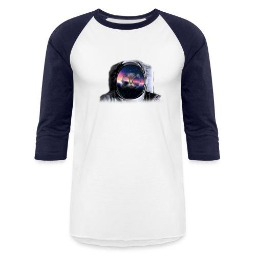 Astronaut Cat - Baseball T-Shirt