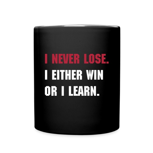 I NEVER LOSE MUG - Full Color Mug