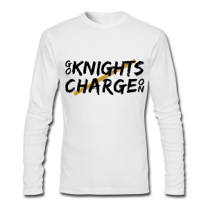Go Knights / Charge On Men's Long Sleeve Shirt - Men's Long Sleeve T-Shirt by Next Level