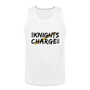 Go Knights / Charge On Men's Tank Top - Men's Premium Tank