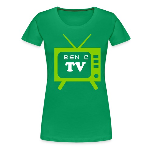 Retro TV Womens T-shirt - Women's Premium T-Shirt