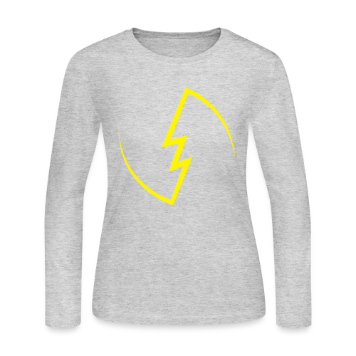 Electric Spark sweater (Women) - Women's Long Sleeve Jersey T-Shirt