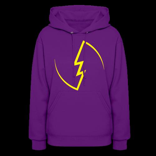 Electric Spark hoodie (Women) - Women's Hoodie