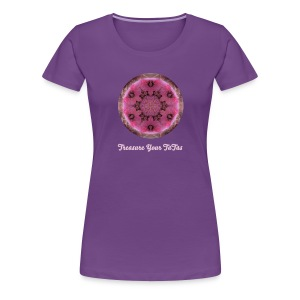 Treasure Your TaTas Mandala Premium Tee - Women's Premium T-Shirt