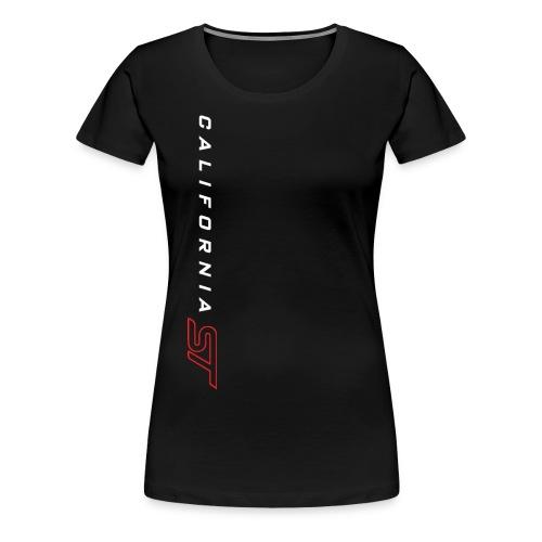 White/Red on Black T-shirt - Women's Premium T-Shirt