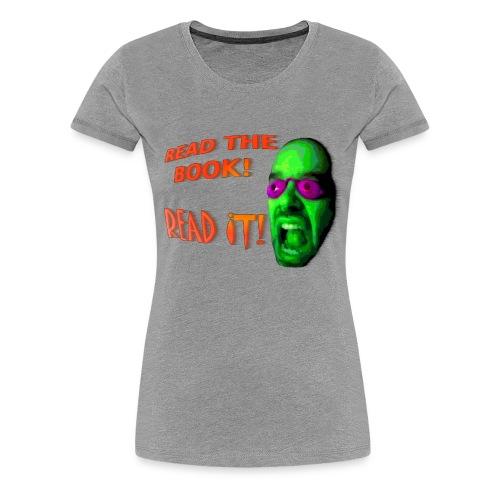 Women's Read It! Premium T-Shirt - Women's Premium T-Shirt