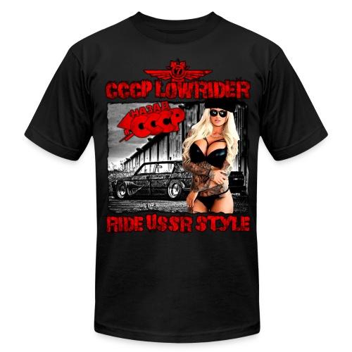 CCCP Lowrider 4 - Men's Fine Jersey T-Shirt