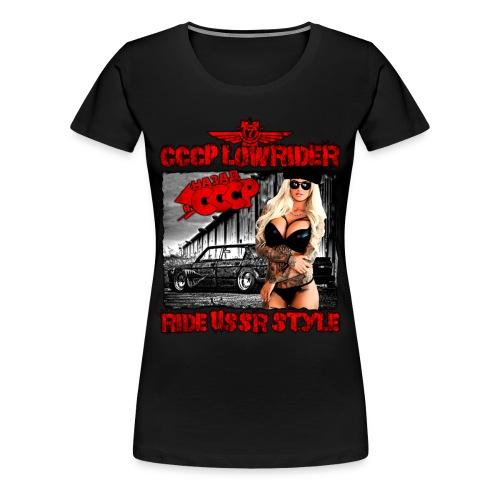 CCCP Lowrider 4 - Women's Premium T-Shirt