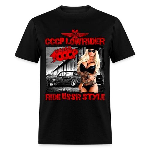 CCCP Lowrider 4 - Men's T-Shirt