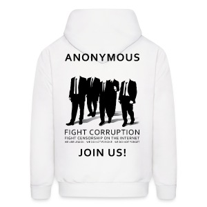 Anonymous 3 - Black - Men's Hoodie