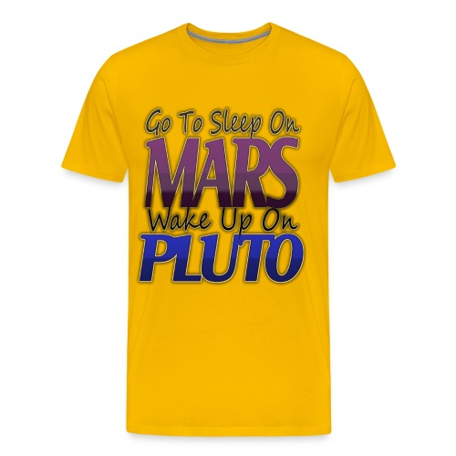 Pluto t-shirt #3 - Men's Premium T-Shirt