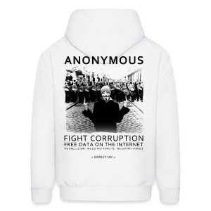 Anonymous 4 - Men's Hoodie