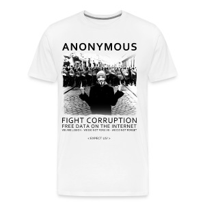 Anonymous 4 - Men's Premium T-Shirt