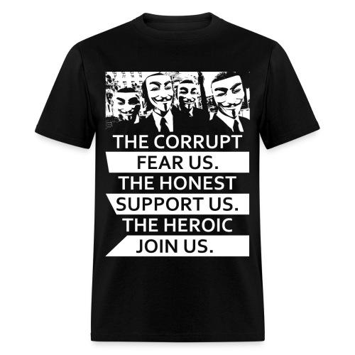 Anonymous 5 - Men's T-Shirt