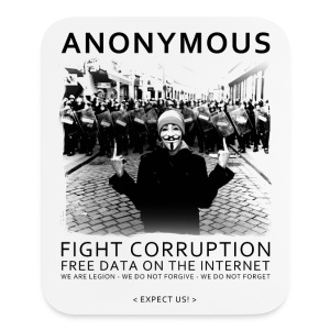 Anonymous 4 - Mouse pad Vertical