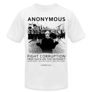 Anonymous 4 - Men's T-Shirt by American Apparel
