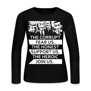 Anonymous 5 - Women's Long Sleeve Jersey T-Shirt