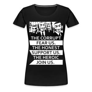 Anonymous 5 - Women's Premium T-Shirt